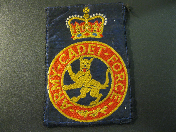 GB - Army Cadet Force Patch.