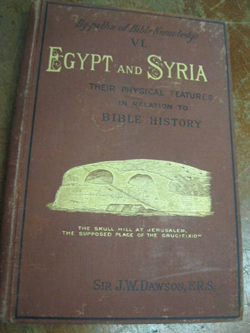 1885 Edition - Egypt and Syria