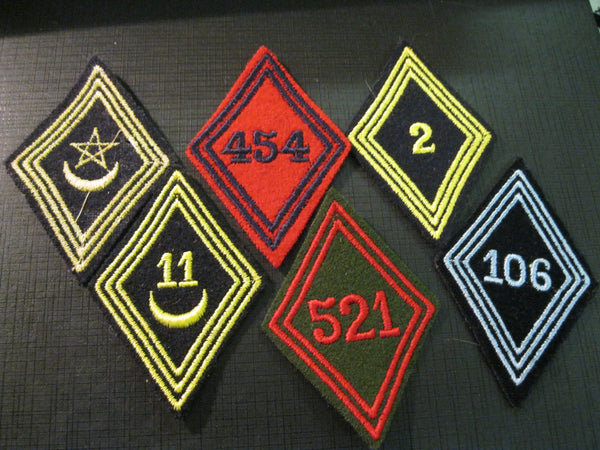 Lot of French Foreign Legion Patches