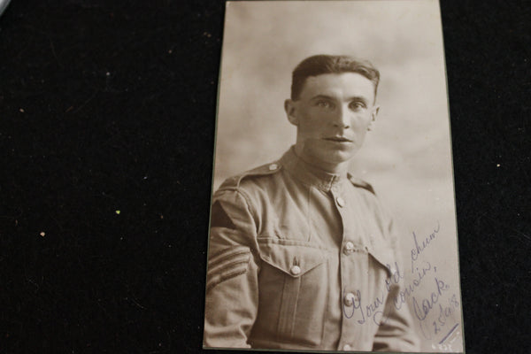 WW1 - Studio Photo of Jack 1918