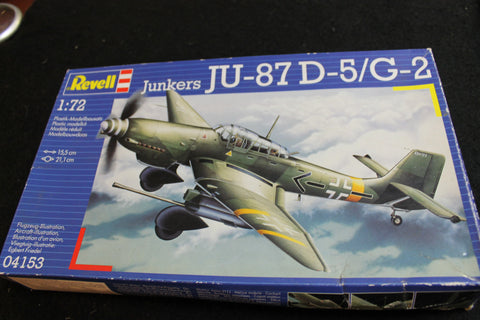 1:72 Revell - Junkers JU-8 Model Kit