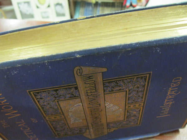 1880's Edition of Henry Wadsworth Longfellow Poetical Works.