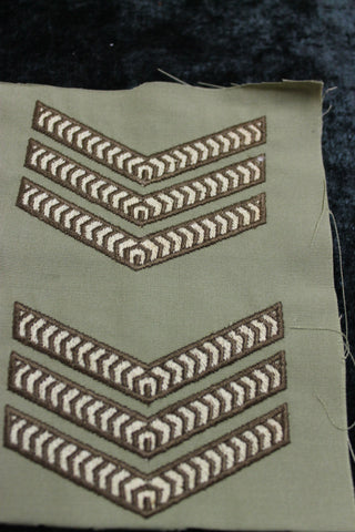 1970's - Australian Army Rank Patches