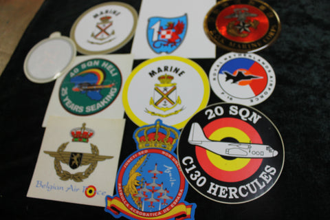 Assorted Decal Lot