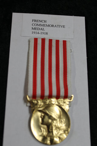 French 1914-1918 Commemorative Medal