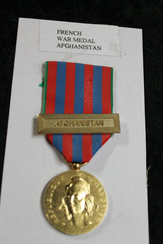 French Afghanistan War Medal