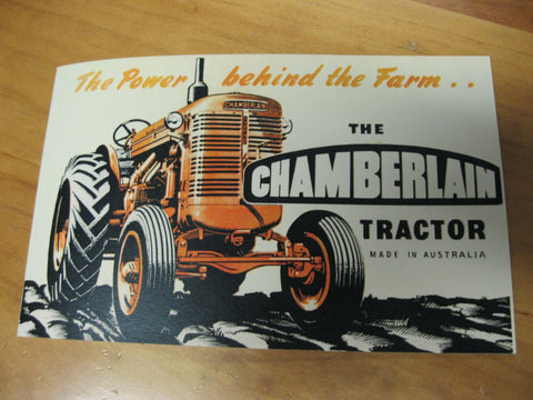 1950's Chamberlain Tractor Booklet
