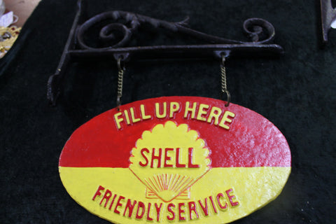 Shell Wall Hanging Sign