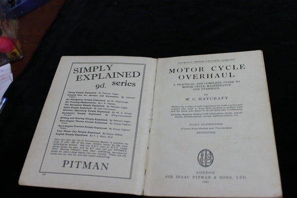 1945 Pitman's - Motor Cycle Overhaul