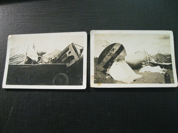 Original  Aircraft Crash Photos - 1935