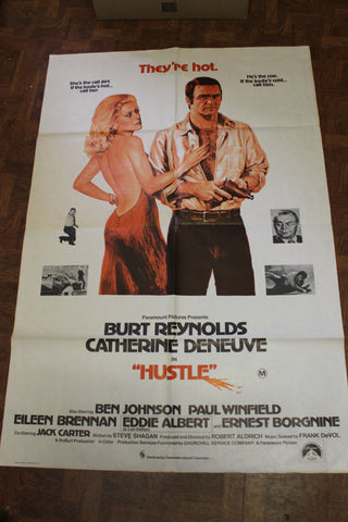 1977 - Hustle Day Bill Movie Poster