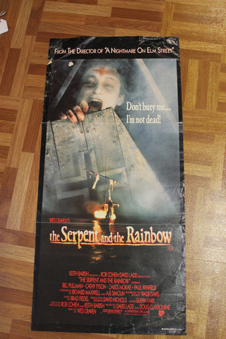 1988 - The Serpent and the Rainbow Day Bill Poster