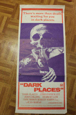 1973 - Dark Places Movie Day Bill Poster