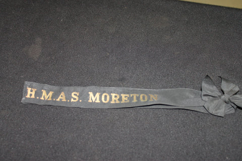 HMAS Moreton Tally Band