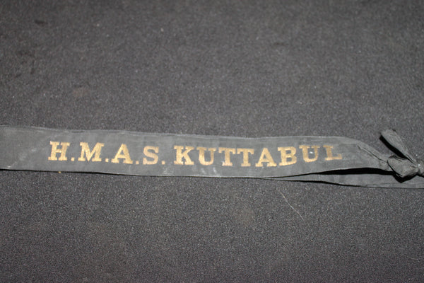 HMAS Kuttabul Tally Band