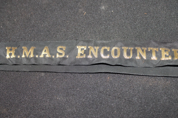 HMAS Encounter Tally Band