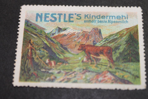 Nestle's Poster Stamp