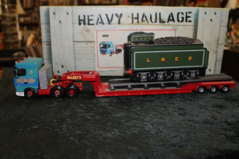 Corgi Heavy  Haulage Locomotive Tender Load