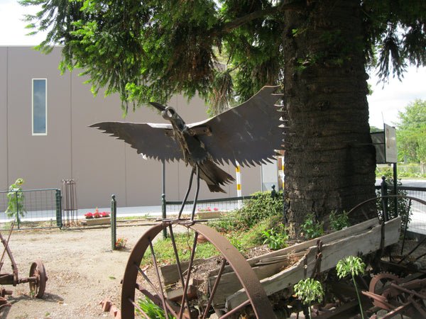 Large Eagle Sculpture.