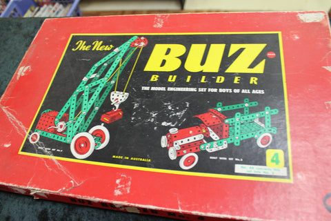 Buz Builder Number 4 Set
