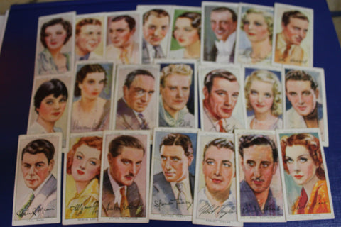 31 - Player's Film Star Cigarette Cards
