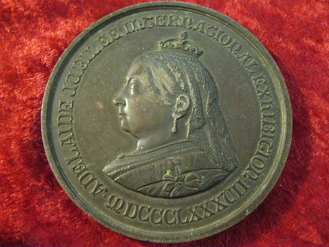 1887 - Adelaide International Exhibition Prize Medal