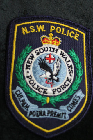 NSW Police Patch 1976-1981