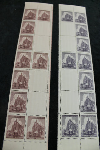 1939 - German Protectorate Stamp Blocks