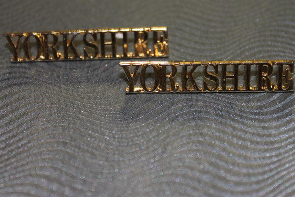 Yorkshire Regt Shoulder Titles