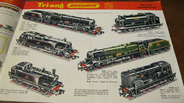 Tri-ang Railways Third Edition 1957.