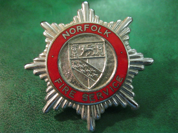 Norfolk Fire Service Cap Badge