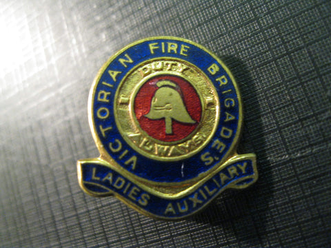 Vic Fire Brigades Ladies Badges