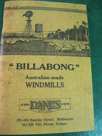""" Billabong "" Windmills Catalogue"