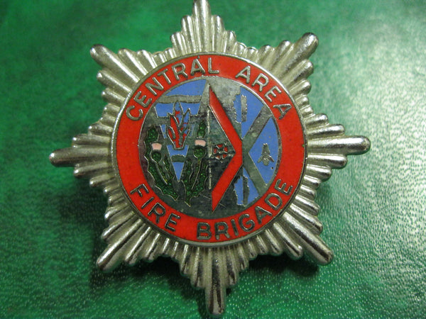 UK - Central Area Fire Brigade Badge