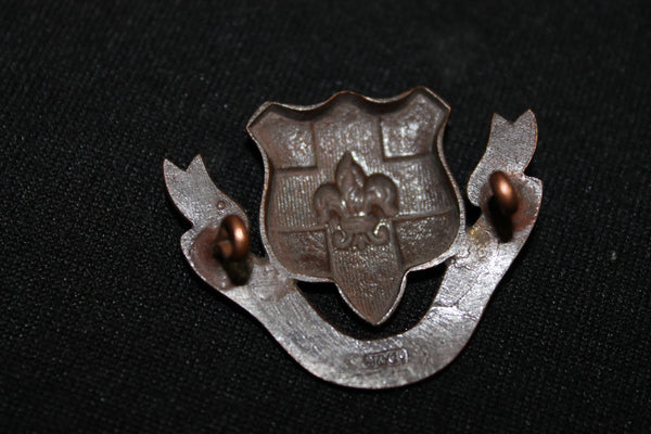 Loyal North Lancashire Regiment Collar Badge