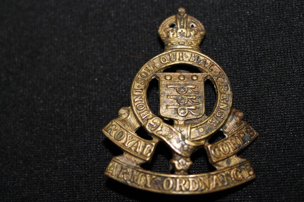 WW1 - Royal Army Ordnance Corps Cap Badge