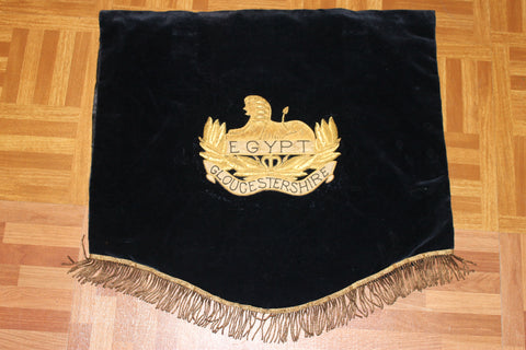 Gloucestershire Bullion Pennant