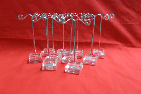 10 -  Earring Display Stands Lot
