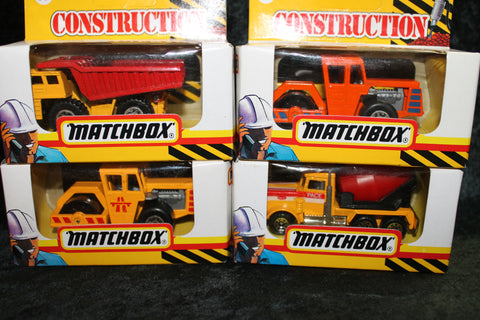4 - Matchbox Construction Vehicles