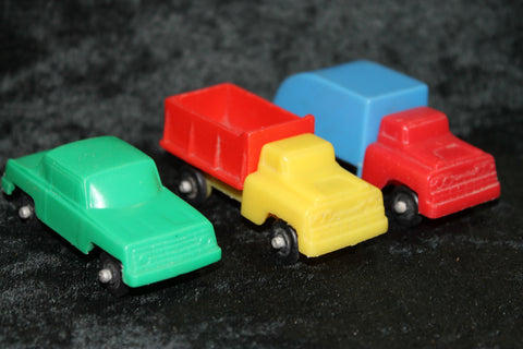 3 - 1960's Wannatoy Vehicles