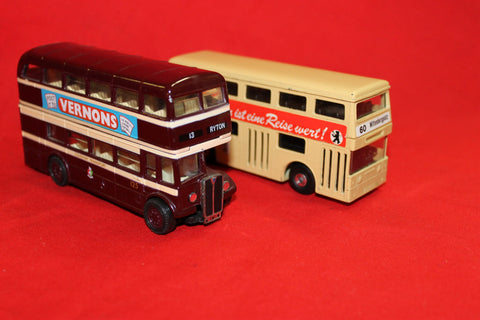 Matchbox and Corgi Diecast Buses