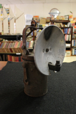 Vintage Carbide Miner's Lamp