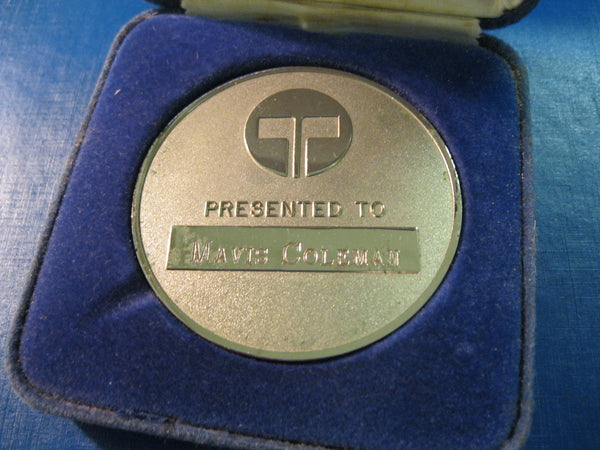 1987 - Telecom Merit Medallion