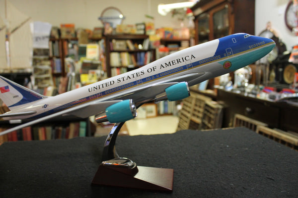 US Air Force One 747 Model