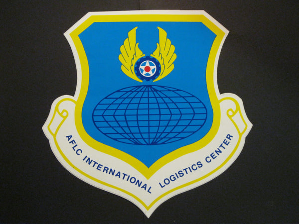 USAF - Logistics Vinyl Door Decal
