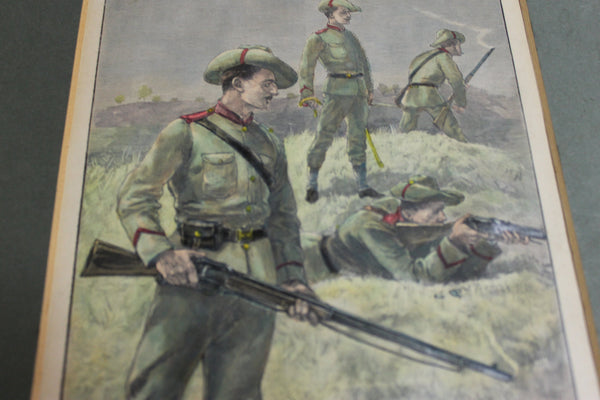 1890 - Engravings of Victorian Rangers and Cadets