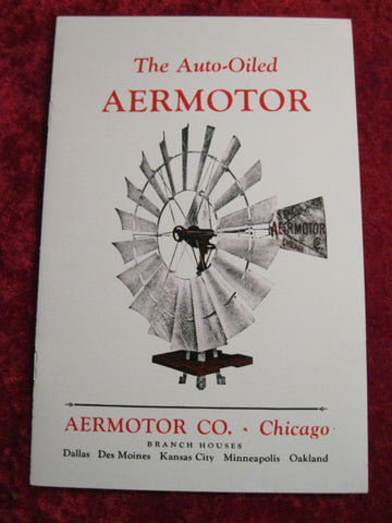 Aermotor Windmill Catalogue