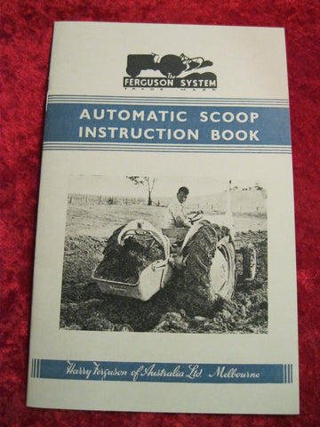 Ferguson Scoop Booklet