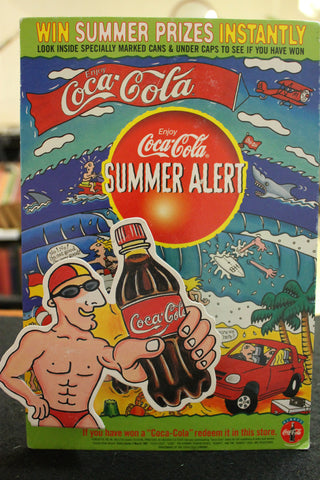Coca-Cola Counter Display Card