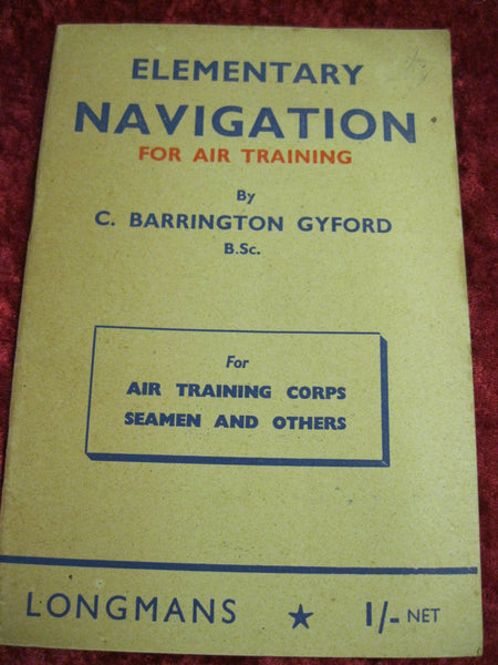 Elementary Navigation For Air Training